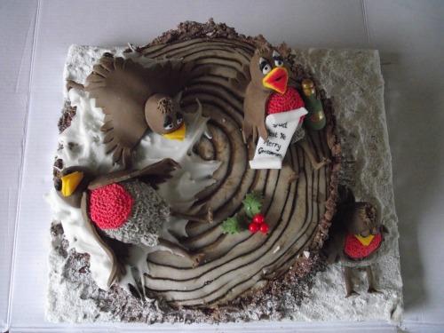 drunken robin cake