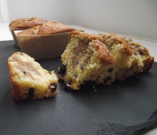 cinnamon and raisin loaf cakes