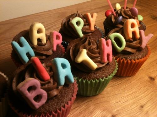 Happy Birthday Cupcakes   Gloverly Cupcakes