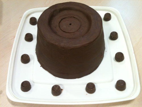 giant rolo cake