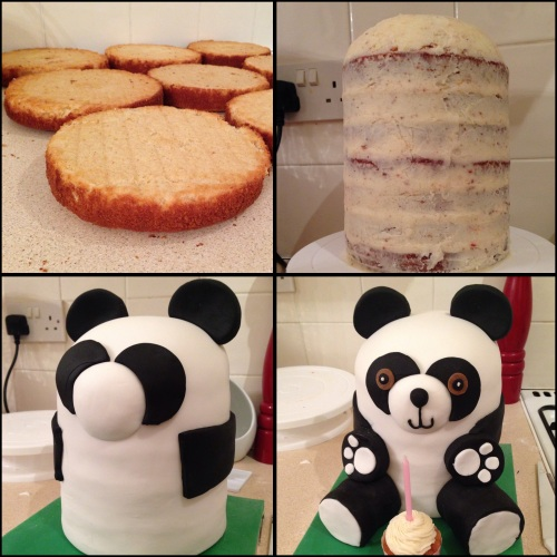 stages of panda