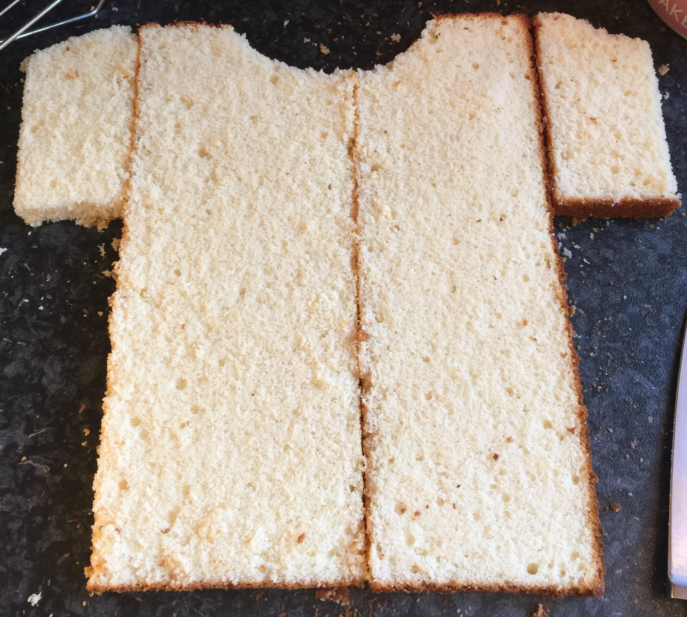 How To Make A Football Shirt Cake Recipe