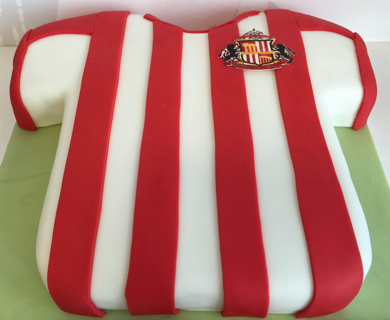 Sunderland Football Shirt Cake Gloverly Cupcakes