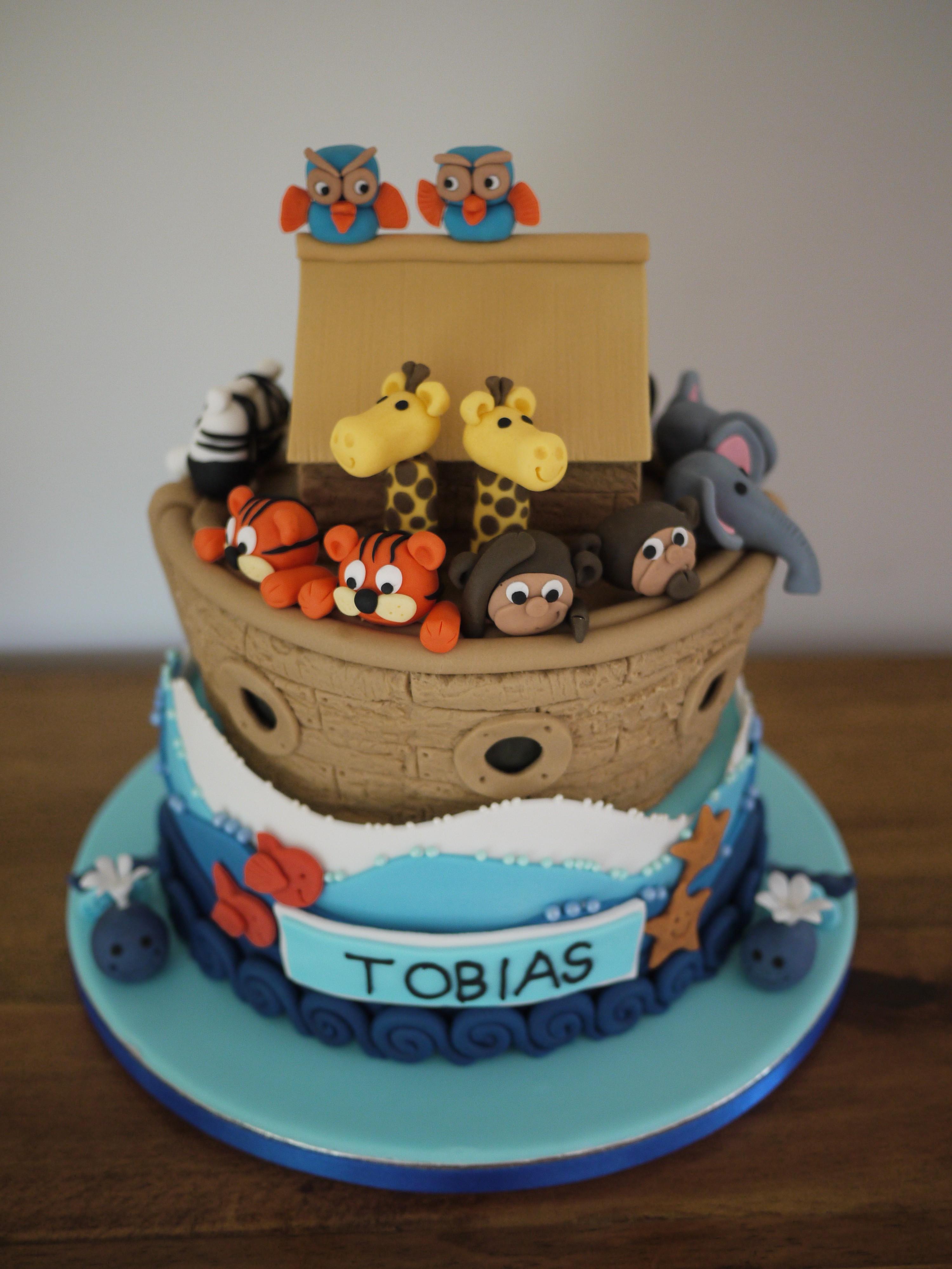 noah u0027s ark christening cake gloverly cupcakes