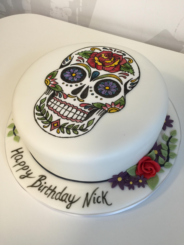 skull all cake ideas - photo #26